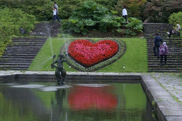 Blomster hjerte
